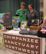 Folks from Chimp Sanctuary NW