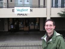 Eric at Veg Fest 2013