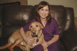 Dr. Valerie Sherer and Preston