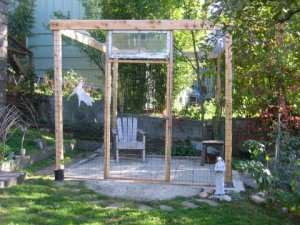 Jennifer Hillman's catio